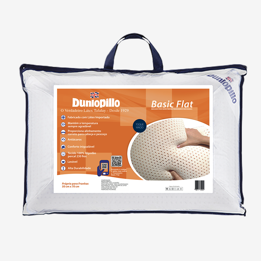 Dunlopillo Basic Flat