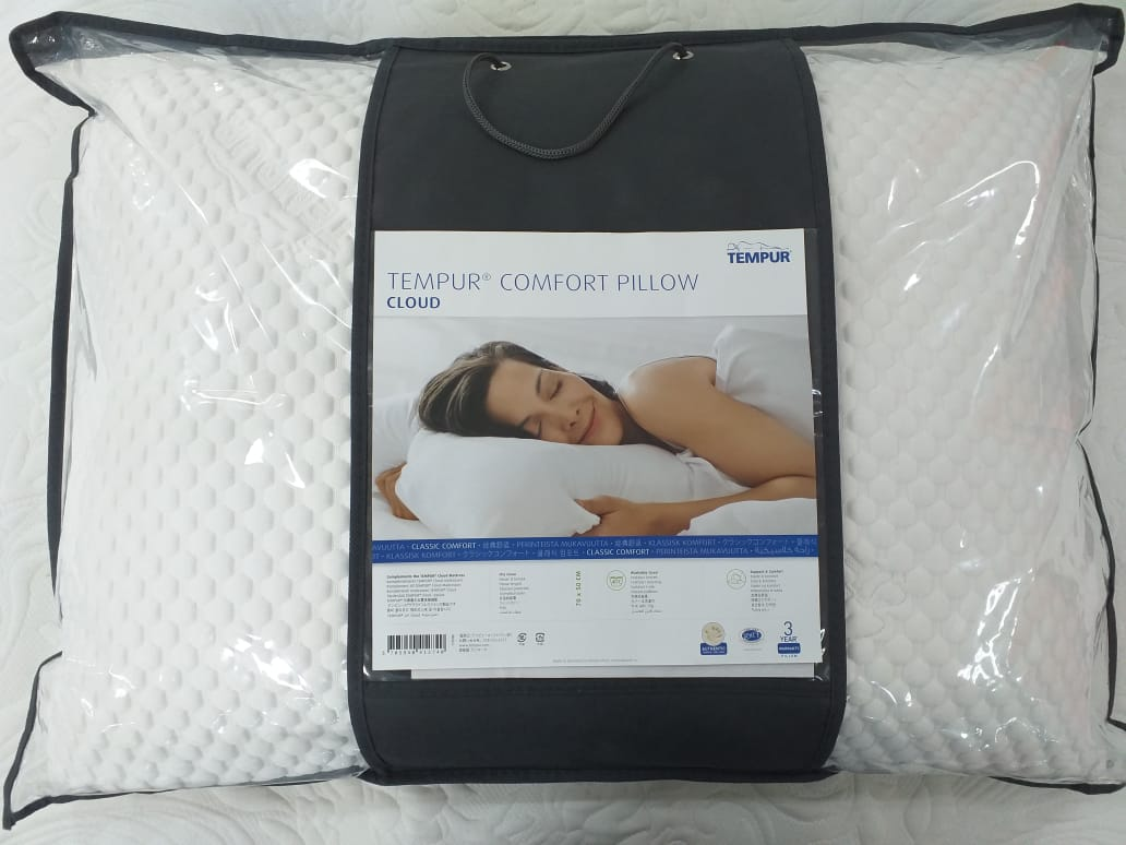 TEMPUR® Trav Tempur Comfort Pillow Cloud